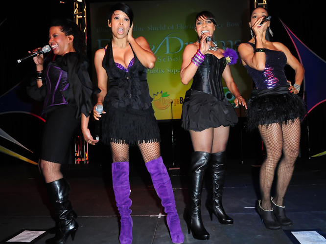 En Vogue: Three of the four members are currently suing each other. Singer Maxine Jones claims she''s been shut-out of the band, and has labelled the rest of the group ''evil'' and ''real arrogant bi***es''. ''My Lovin''? No they''re never gonna get it...