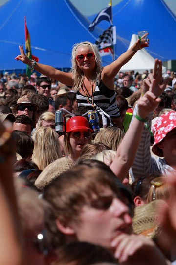 T in the Park 2009 – The fans (Duncan Gerrie)