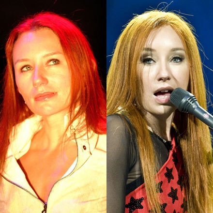 Tori Amos - Has she or hasn&#39;t she? The difference between 2001 (left) and now seems palpable. (Carsten Windhorst/WENN) 