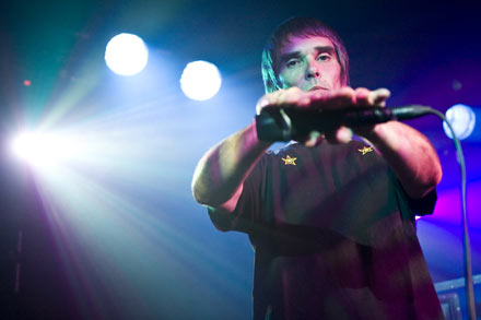 Ian Brown live at The Garage