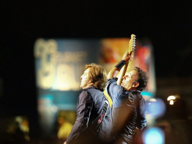 Just a few days ago, Paul McCartney and Bruce Springsteen's epic jamming session was shut down at Hard Rock Calling in Hyde Park. On 15 July, the set ran over the allotted curfew by an hour and a half, causing the police to pull the plug on what was shaping up to be a legendary night.