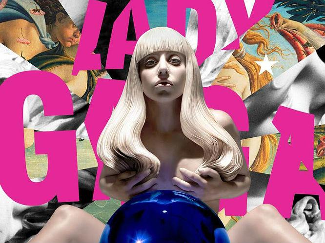 October 2013: Lady Gaga reveals ARTPOP album artwork - on which she is stark naked
