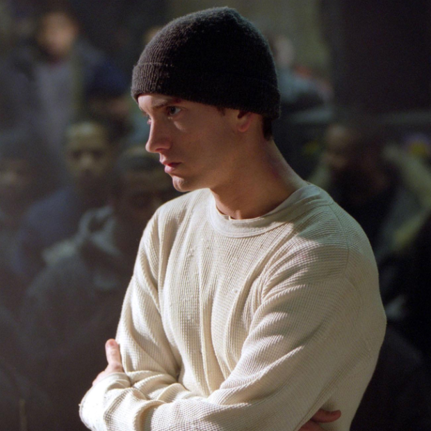 �8 Mile (2002) - Can a movie be a biopic when the subject is also the main character?  Eminem went a long way towards answering this question with his performance as a young rapper giving himself one last chance to hit the bigtime.