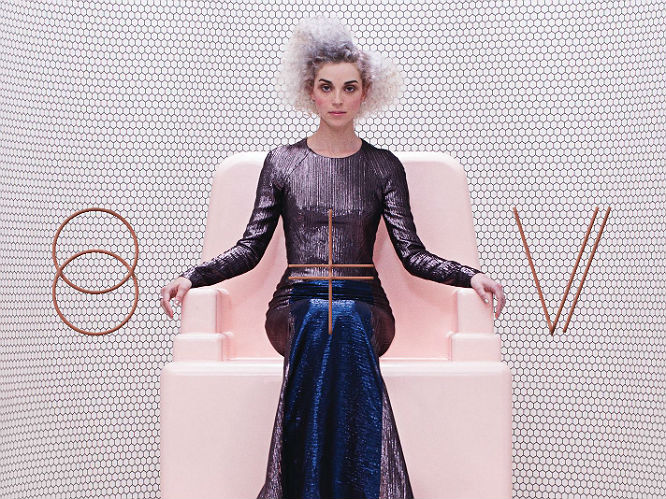 St Vincent: The Purple One has clearly made a mark on St Vincent's new self titled record, particularly the lead single 'Digital Witness', a squelchy funk filled, horn-featuring number that the singer admits she wanted to have a