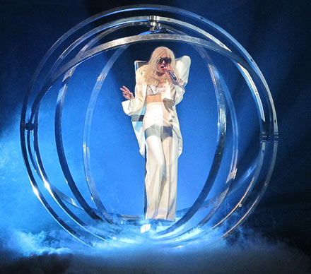 Lady Gaga live in New Jersey