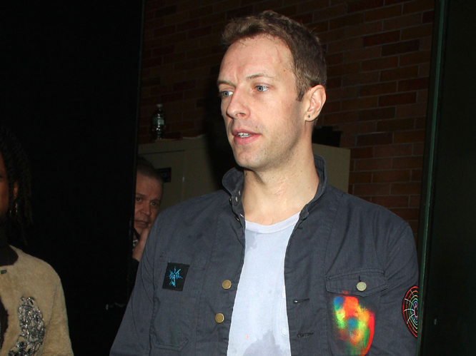 Chris Martin: Last year the teetotal Coldplay frontman tried to break free of his clean cut image by saying