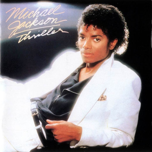 No,5: Michael Jackson &#39;Thriller&#39; Sales - 4,248,000