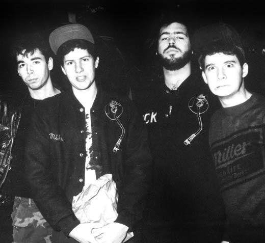 1985: with producer Rick Rubin