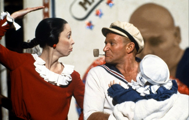 Popeye (1980) - Not the most obvious choice in this list, obviously, but as he relies on his spinach to make him strong and powerful, then he&#39;s a superhero in our book.  Robin Williams donned the prosthetic forearms in a film so bad, no one&#39;s ever dared even think about making another one.