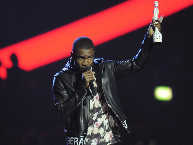 International Male Solo Artist: Frank Ocean