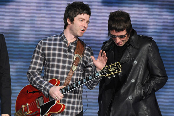 OASIS: Rock's most unruly brothers were famed for their fights throughout the career of Oasis but none were worse than the fight which split the band for good in 2009. It is claimed that Liam was so angry with Noel that he smashed what he believed to be an expensive vintage guitar belonging to his brother only to learn that it actually belonged to him. Oops.