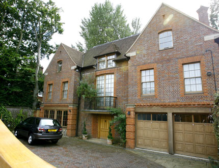 Former Spice Girl Geri Halliwell&#39;s plush house in Hamstead, North London