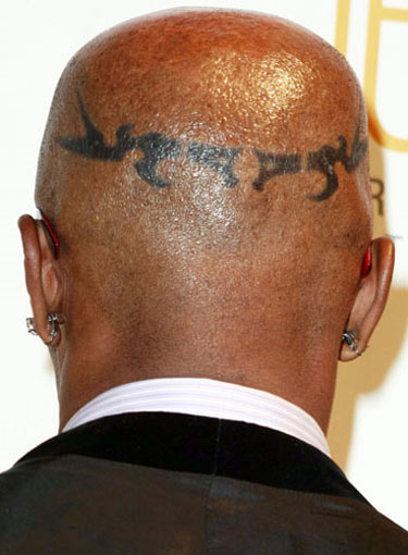 Jamie Foxx - As well as having crazy patterns tattooed across his arms and
