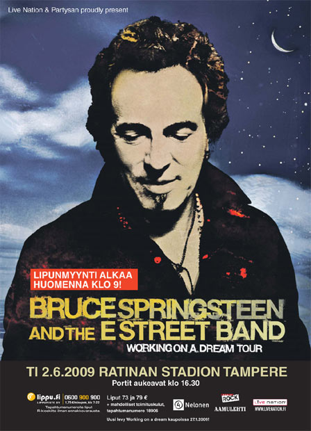 20 � Bruce Springsteen, Working On A Dream Tour (2009). Gross: $167million. Attendance: 1.8million.