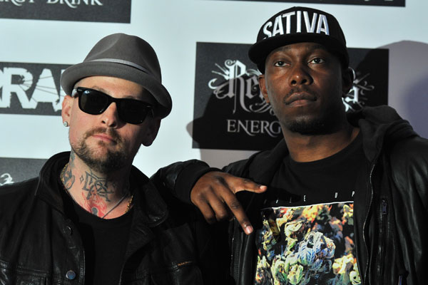 Benji Madden and Dizzee Rascal @ Kerrang Awards 2012