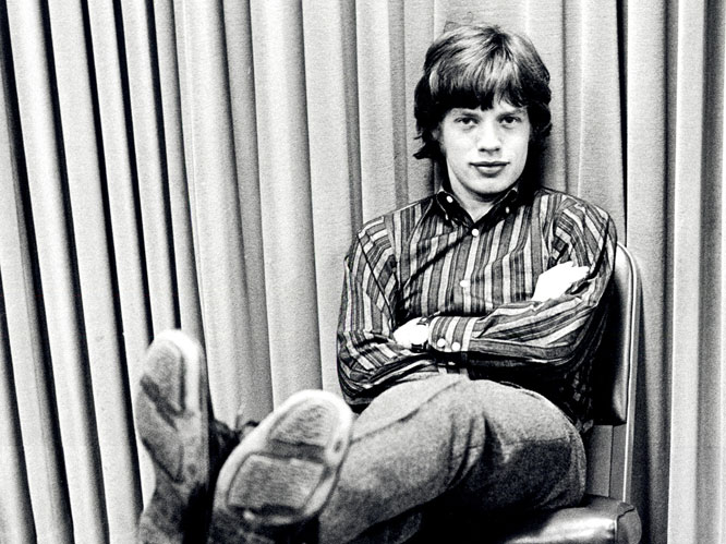 Mick Jagger then
