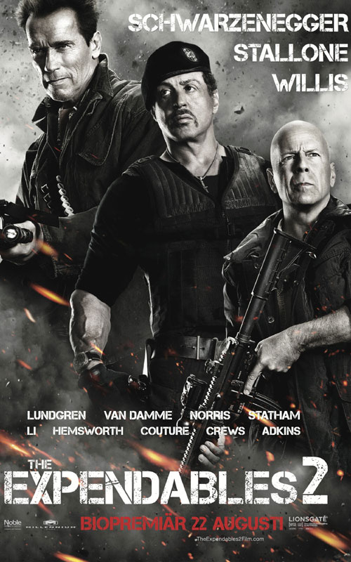Expendables 2 - Aug 17
