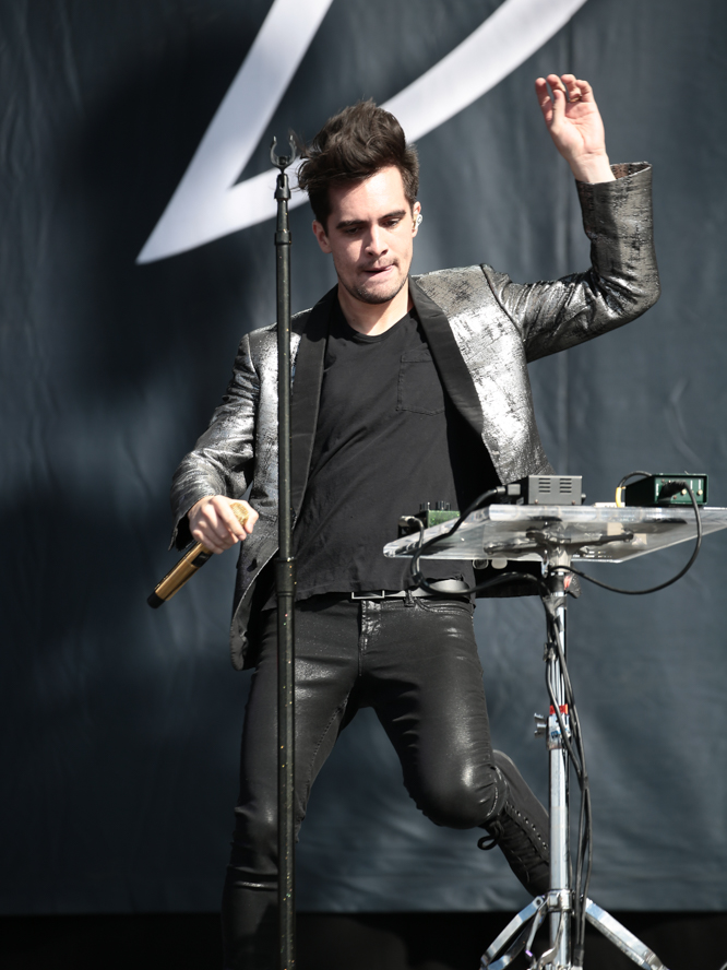Brendon Panic At The Disco 2015