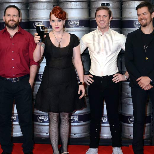 Scissor Sisters: Turning homosexuality into a work of art, the three male members of Scissors Sisters have all been open about their sexuality, with singer Jake Shears recently speaking up for US It Gets Better campaign.
