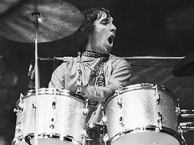 Keith Moon - 1946-1978: Moon was the drummer in The Who, best remembered for his legendary and unique drumming style that gave him a legacy as one of the best of all time. The musician was also known for his alcohol and drug fuelled destruction, which included a habit of putting explosives down toilets. His life ended when he overdosed on a combination of pills.