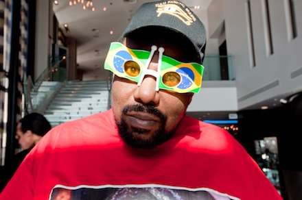 Afrika Bambaataa party