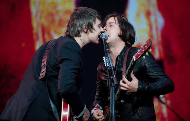 The Libertines 2010 - A moment many Libertines fans had dreamed of and many thought wouldn�t happen. Reading And Leeds festival 2010 belonged to The Libertines, thousands watched as Pete Doherty and Carl Barat took to the stage to perform some of their most loved tracks. It may have not been the smoothest set but as the pair finished �I Get Along� everyone felt a little moment.
