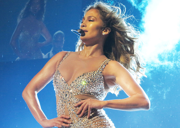 Jennifer Lopez: Love might not cost a thing but apparently some boob tape is too much for J-Lo. The star accidentally flashed her boob during her London show last night - just days after a 'nip slip' in during a show in Italy, as well.