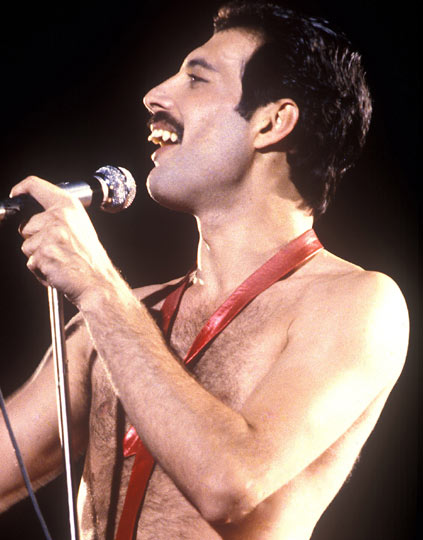 Freddie Mercury (circa 1980) 