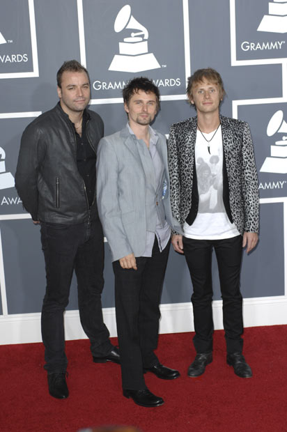 Muse - All three members of Muse were given an honorary Doctorate of Arts Degree by the University of Plymouth. 