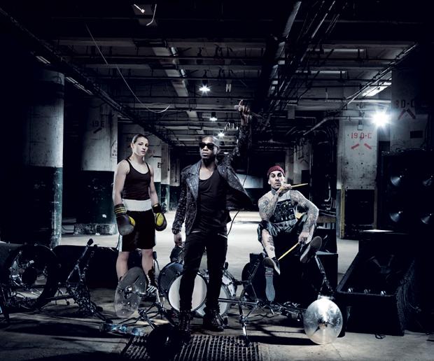 Tinie Tempah, Travis Barker, Katie Taylor