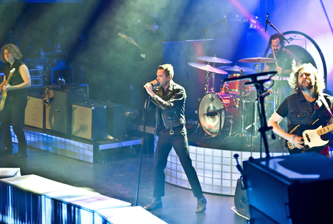 The Killers return to the UK next year, playing 2 dates in Manchester in February and Wembley Stadium in June.