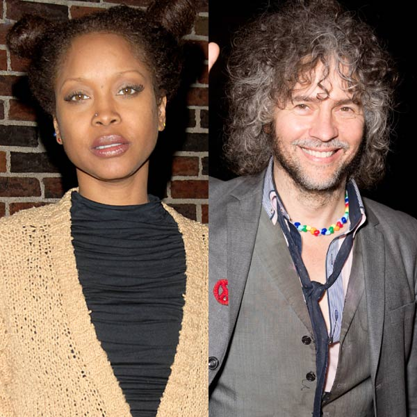 Erykah Badu vs Wayne Coyne: When The Flaming Lips released an unapproved video for their Erykah Badu duet 'First Time Ever I Saw Your Face', little did they know the trouble it would cause. The US soul singer penned the band an ENORMOUS tweet (140 characters it was not). The singer accused the band of being desperate to shock with the naked video, and invited Wayne Coyne to kiss her 'glittery ass'.