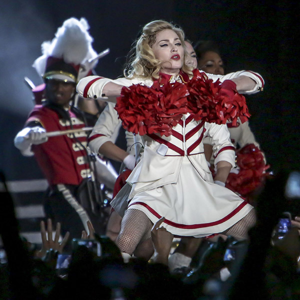 Madonna: Apart from a 'recreation of her own home', Madonna demands flowers cut to six inches, 200 staff, a personal acupuncturist and 30 security staff.