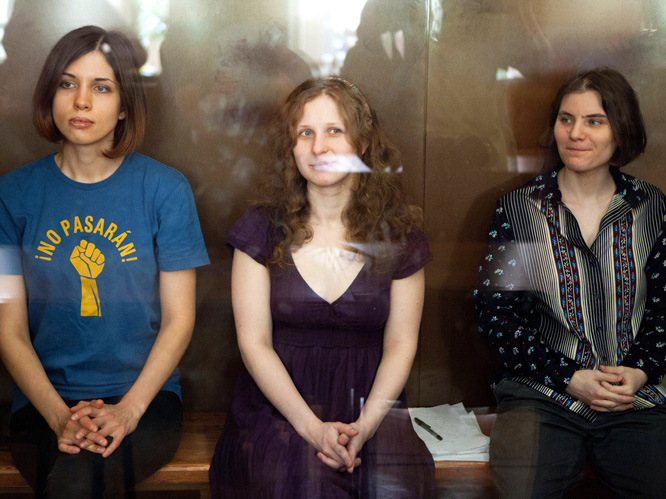 Pussy Riot found guilty by Russian court: The all-female punk trio have been found guilty of ''hooliganism motivated by religious hatred'', and have been sentenced to two years in prison. This result was expected, as the judge presiding over the case has only acquitted one of 178 similar cases in the last three years.