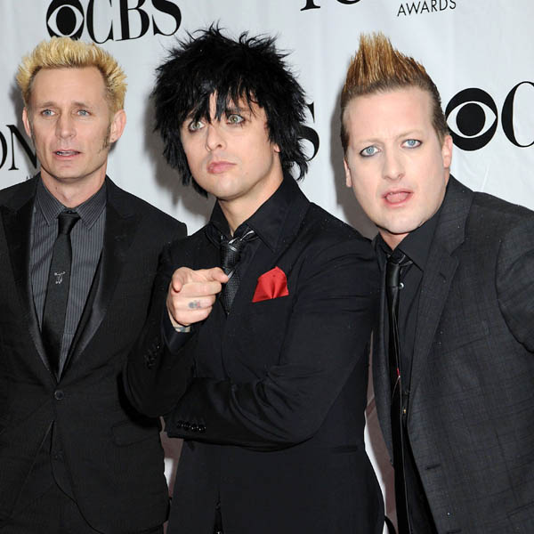 GREEN DAY: The bands last record was '21st Century Breakdown' back in 2009. This year sees the band comeback with a trio of album releases starting in September with '�Uno!'.