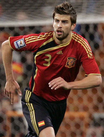 6629794 gerardpique Germanys Opponents: Part 6   Spain