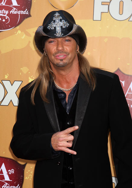 Bret Michaels - Pammy�s back, and making her second appearance on out countdown of sex tape scandals. This time it�s because she had a romp with Poison singer Bret Michaels, which was released as a DVD in 2005 years after it had already been available for millions of internet users. The Baywatch star certainly knows how to choose them.