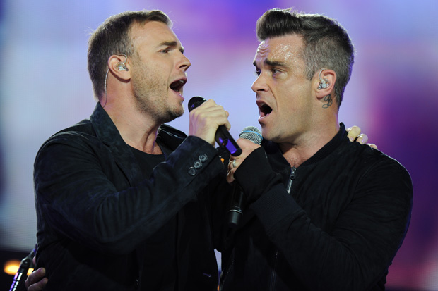 Robbie Williams & Gary Barlow