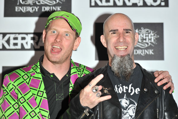 Corey Taylor (Slipknot) and Scott Ian (Anthrax) @ Kerrang Awards 2012