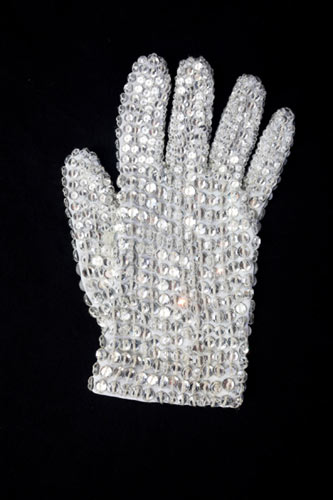 White glove covered in Swarovski crystals. Estimate GBP 7,500 - 10,000