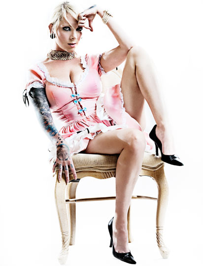 25. Maria Brink of In This Moment - Her band&#39;s musical output may be of dubious quality, but at least they have a captivating, unique frontwoman