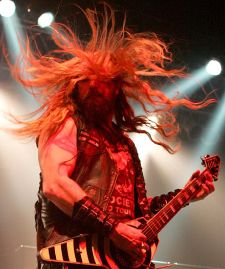 Black Label Society's Zakk Wylde – hairy is an understatement.