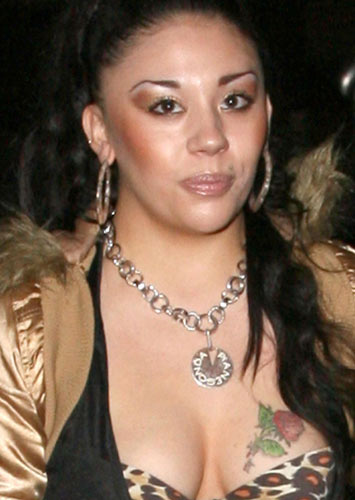 Mutya Buena: The ex-Sugababe singer has easily the chav-est tattoo on the