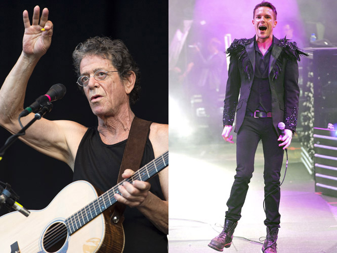 Lou Reed and The Killers: Who could forget 2007''s duet between The Killers and Lou Reed? Scooping up a USA NME Award, ''Tranquilize'' was a behemoth of a song and a perfect example of a collaboration done properly. From the disjointed melody to the sense of menace, ''Tranquilize'' remained darkly hypnotic and both parties were - quite rightly - proud.