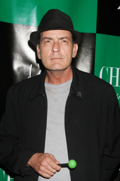 Charlie Sheen - The drug taking, drink-downing, wife beating (allegedly), boss-fighting, ultimate loose cannon. Only Charlie Sheen can possibly believe that he is, indeed, winning.