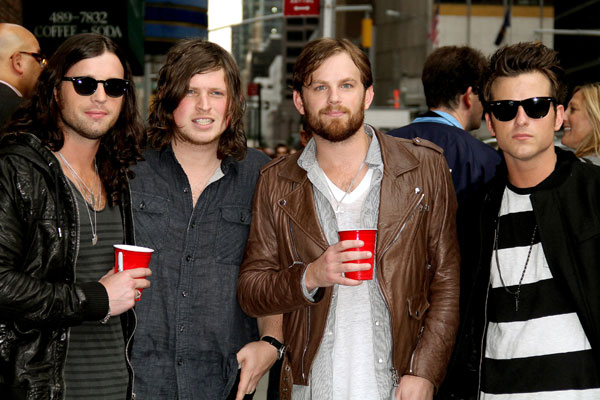 KINGS OF LEON: Sound issues at T In The Park 2009 saw tensions in the Kings Of Leon camp reach fever-pitch with the band reportedly held back from physically laying into each other in front of fans.