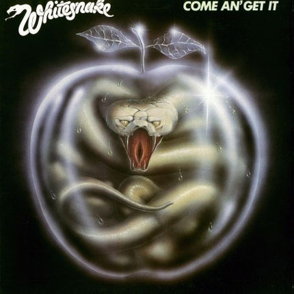 Whitesnake: 'Come An Get It' - Perhaps the most obvious subliminal image on the list, the snake's tongue at the centre of the album cover is claimed to intentionally resemble a woman's genitalia.
