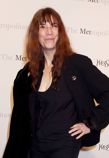 Patti Smith has numerously said she is a great fan of Bob&#39;s songwriting, and vice versa. Patti&#39;s poem 