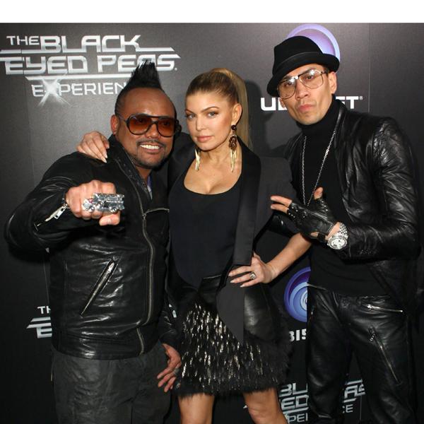 Black Eyed Pea Costume Black Eyed Peas Performing at