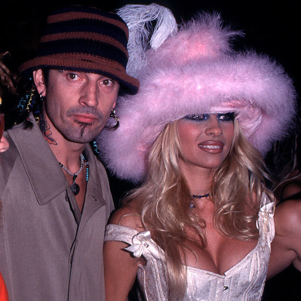 Pamela Anderson and To...